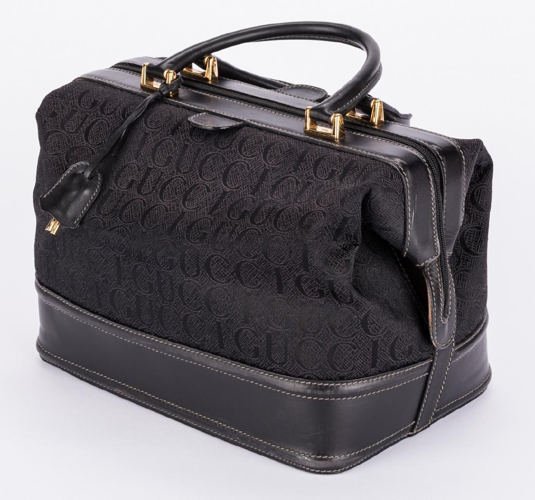 Black Gucci Doctor Bag - 3