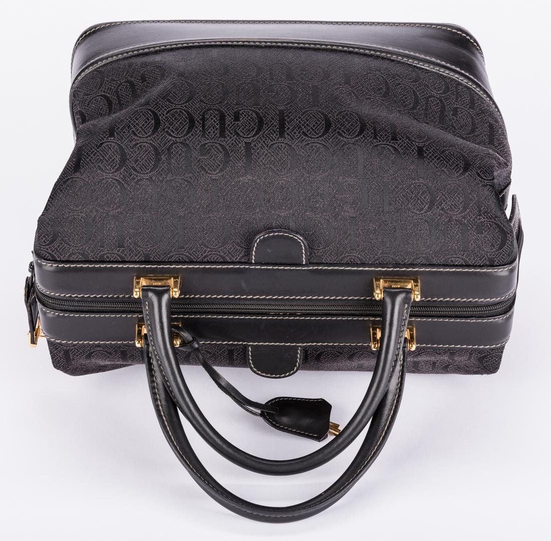 Black Gucci Doctor Bag - 4
