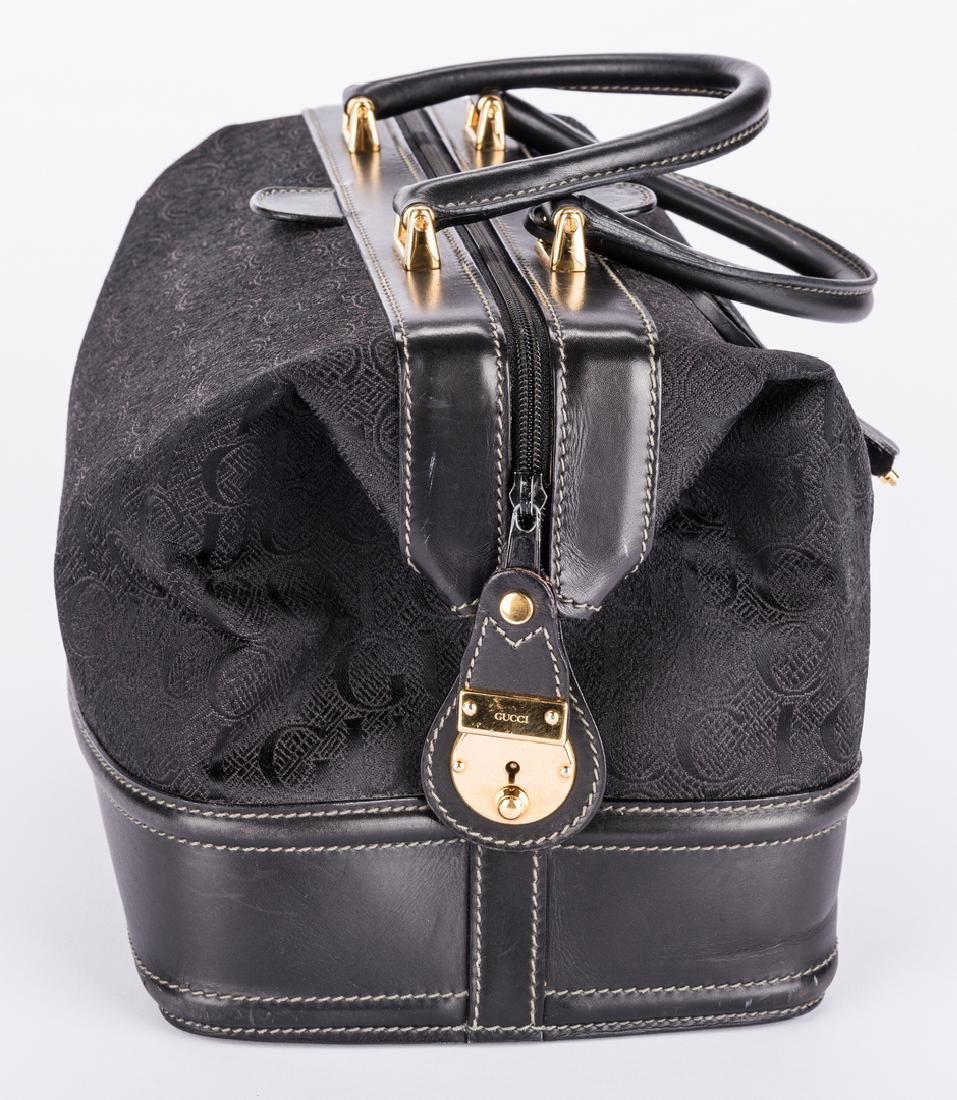 Black Gucci Doctor Bag - 6