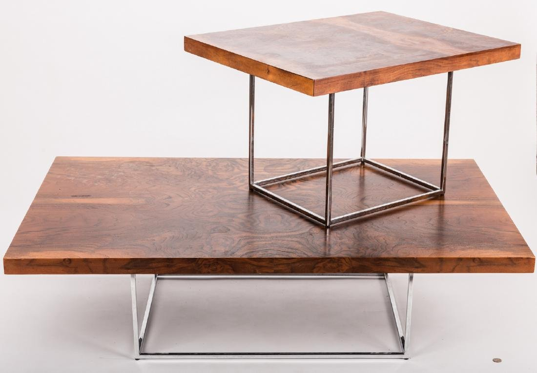 Mid-century coffee and side table - 2