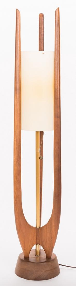 Mid-Century Modern Sculptural Teak Lamp - 2