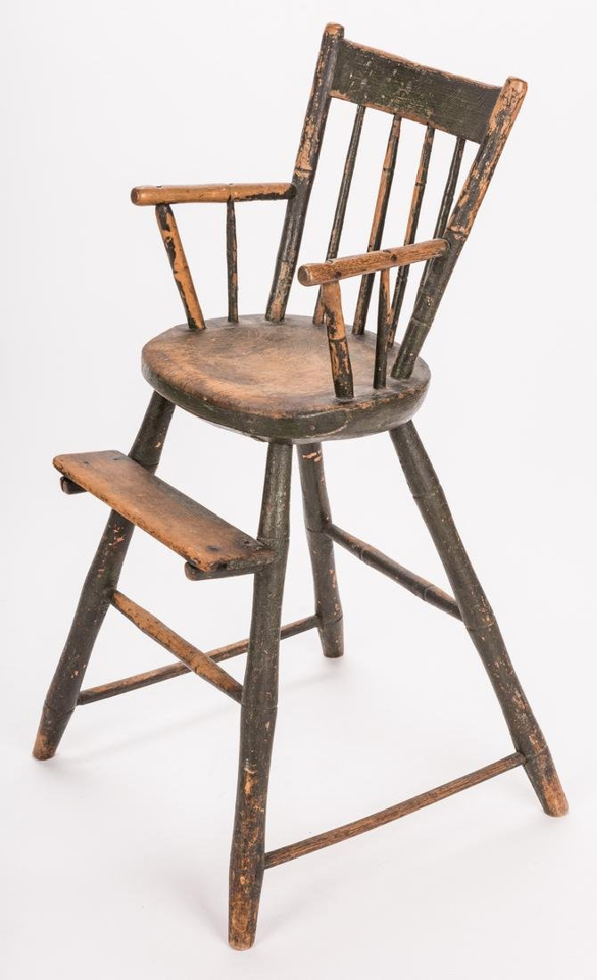 Southern Painted Chair & Ladder - 3
