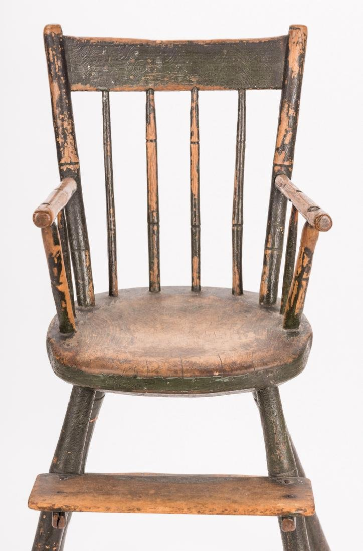 Southern Painted Chair & Ladder - 5