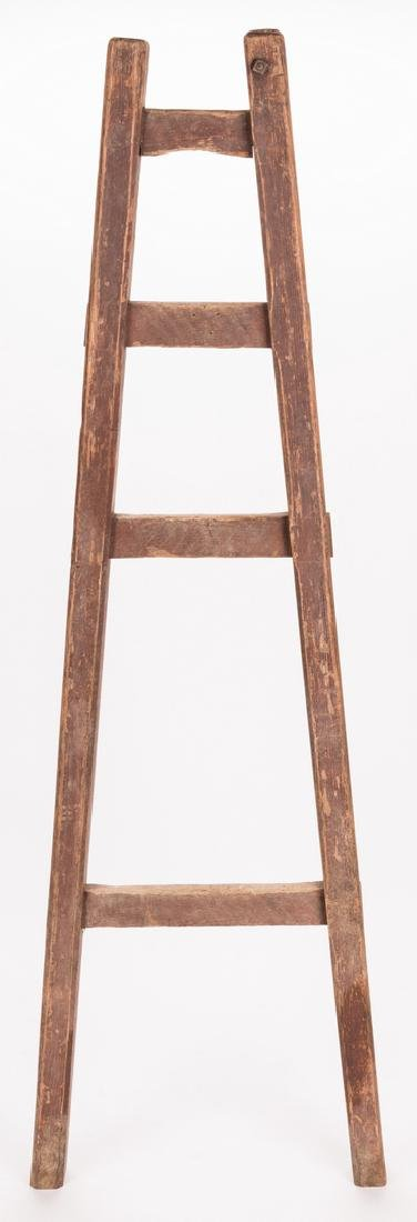 Southern Painted Chair & Ladder - 7