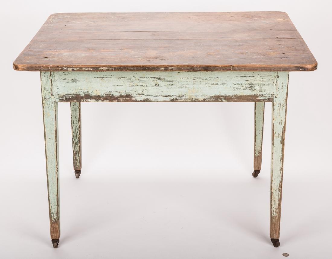 Southern Hepplewhite Yellow Pine Table