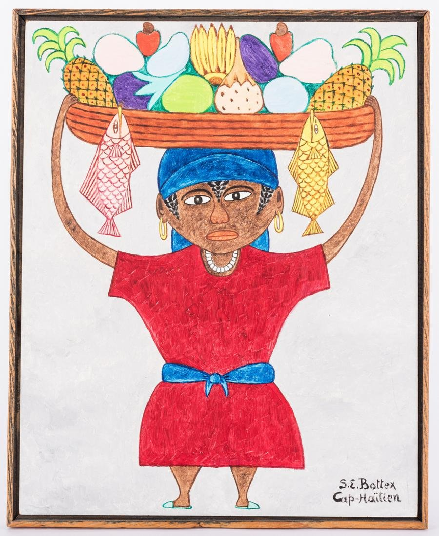 Seymour Etienne Bottex Haitian Painting