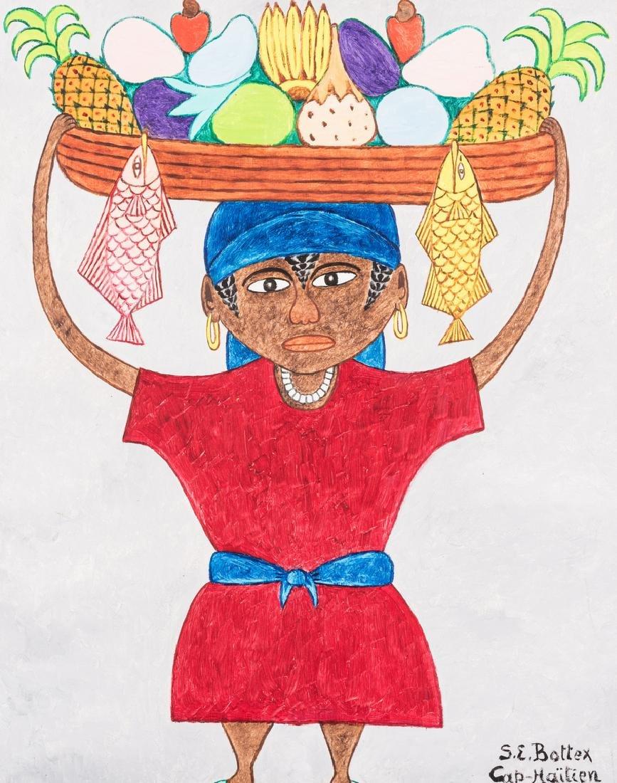 Seymour Etienne Bottex Haitian Painting - 2