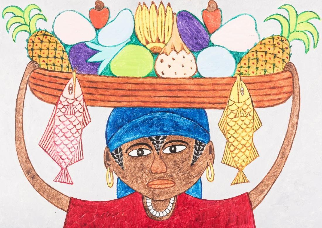 Seymour Etienne Bottex Haitian Painting - 3
