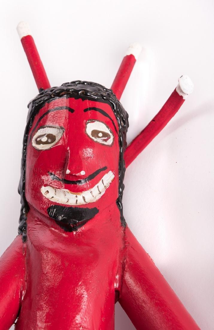"3 R. Cooper Folk Artworks ""Scate Bordin to Hell"" - 9"