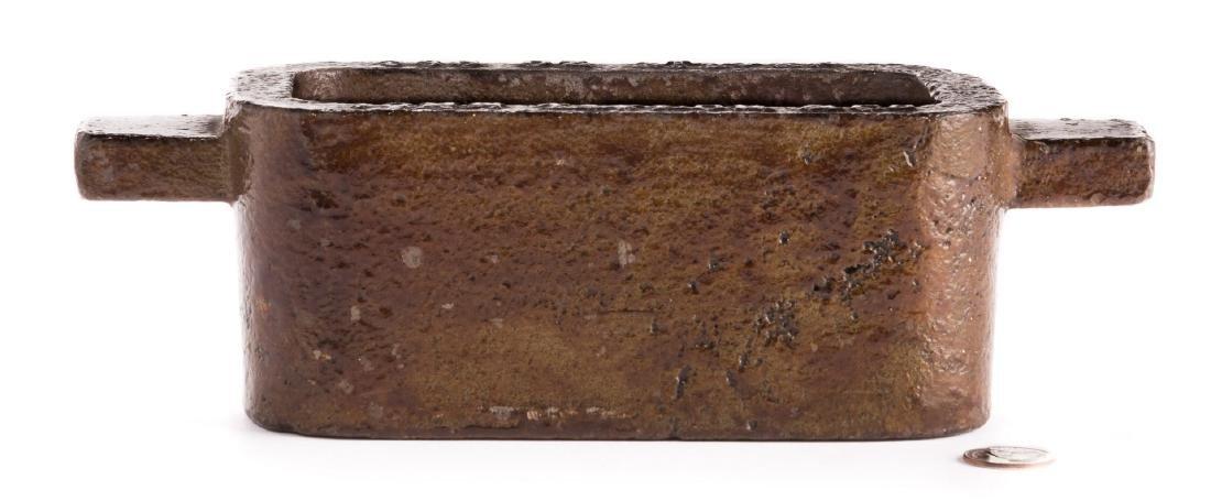 John Taylor & Co. Silver Ingot Mold - 7