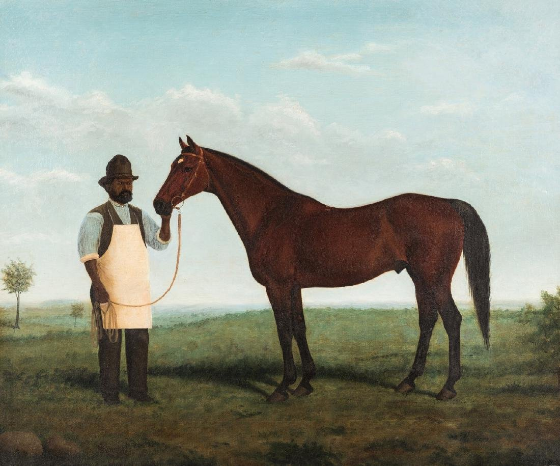 H. Kittredge, Portrait of Bonnie Scotland & Robert