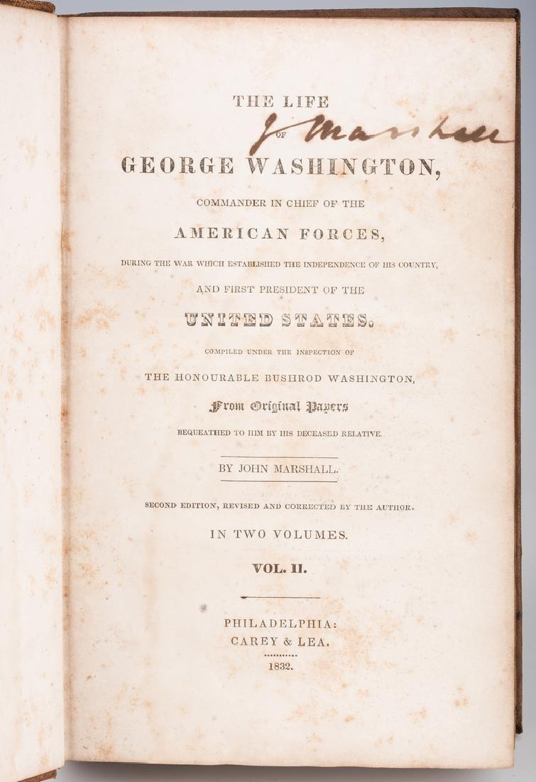 John Marshall's 2 Volume Book: Marshall's Washington, - 11