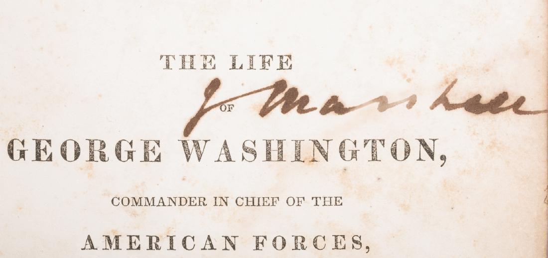 John Marshall's 2 Volume Book: Marshall's Washington, - 12