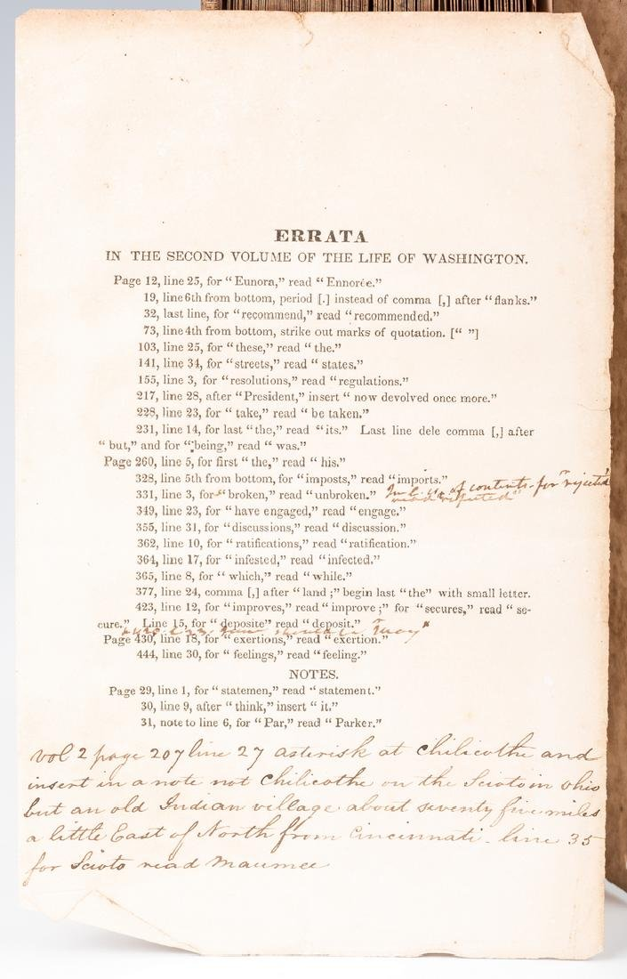 John Marshall's 2 Volume Book: Marshall's Washington, - 14