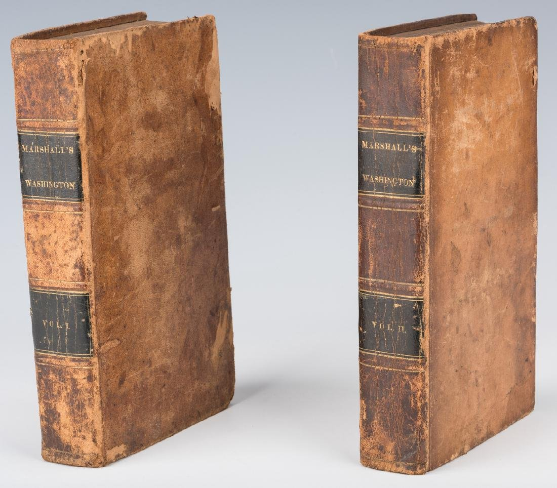 John Marshall's 2 Volume Book: Marshall's Washington, - 19