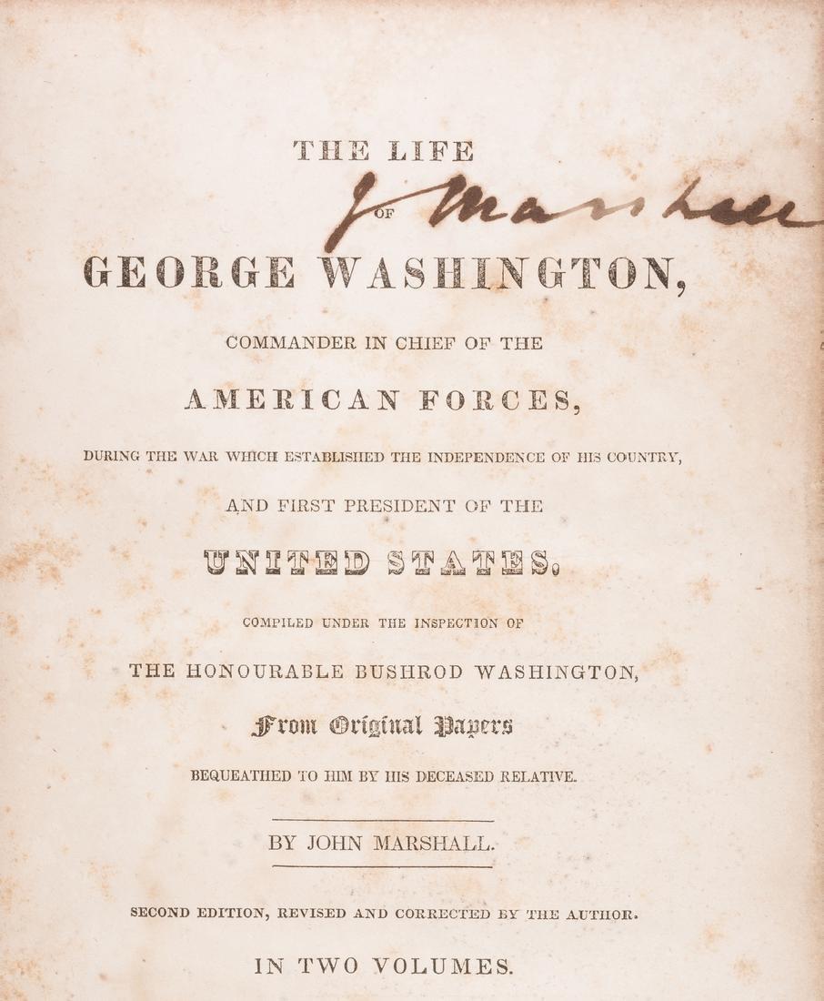 John Marshall's 2 Volume Book: Marshall's Washington,