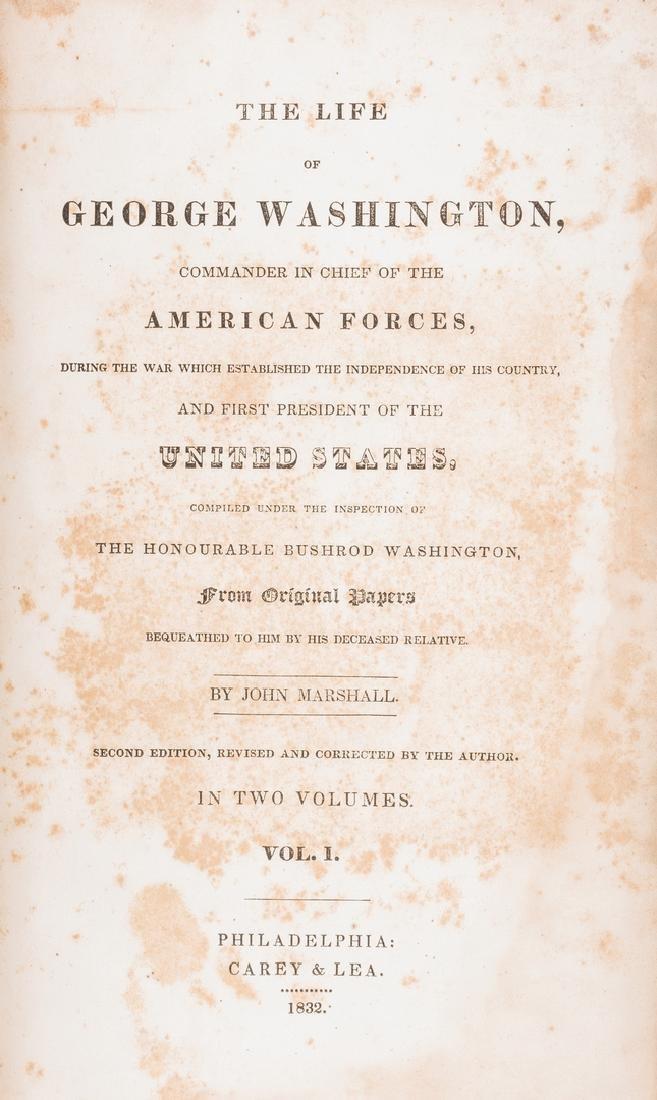 John Marshall's 2 Volume Book: Marshall's Washington, - 7
