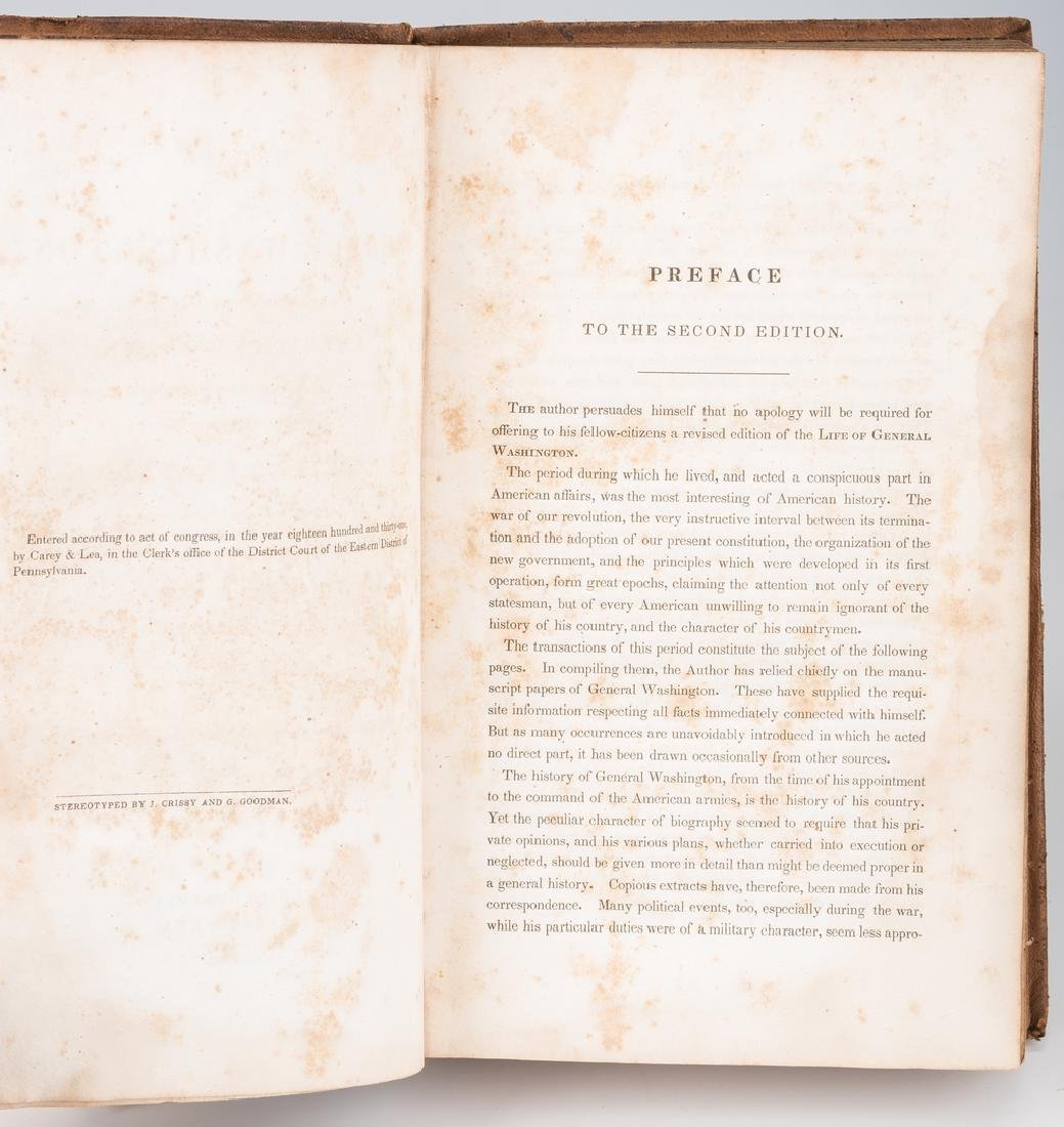 John Marshall's 2 Volume Book: Marshall's Washington, - 9