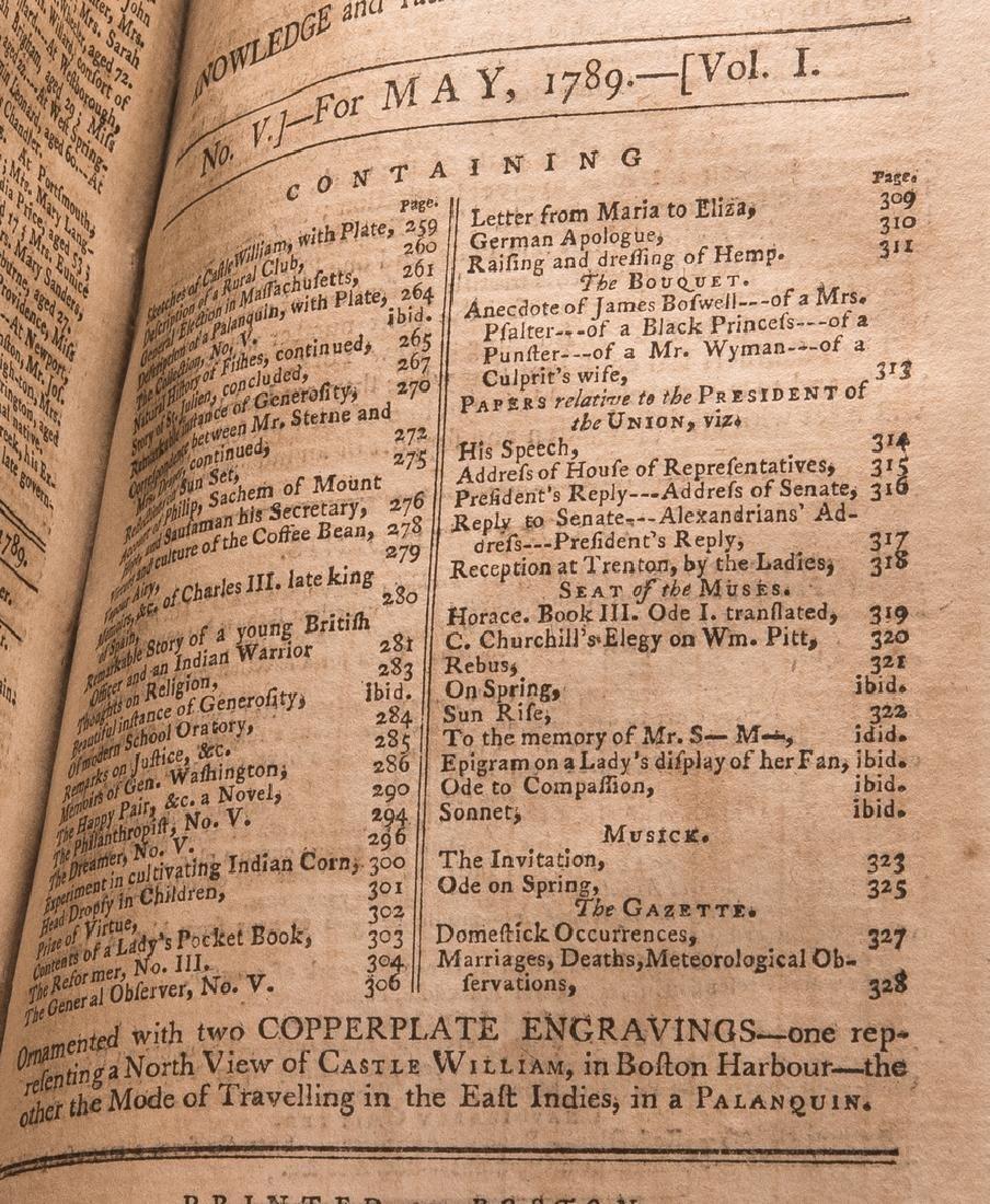 George Washington Signed Book w/ Bookplate - 11