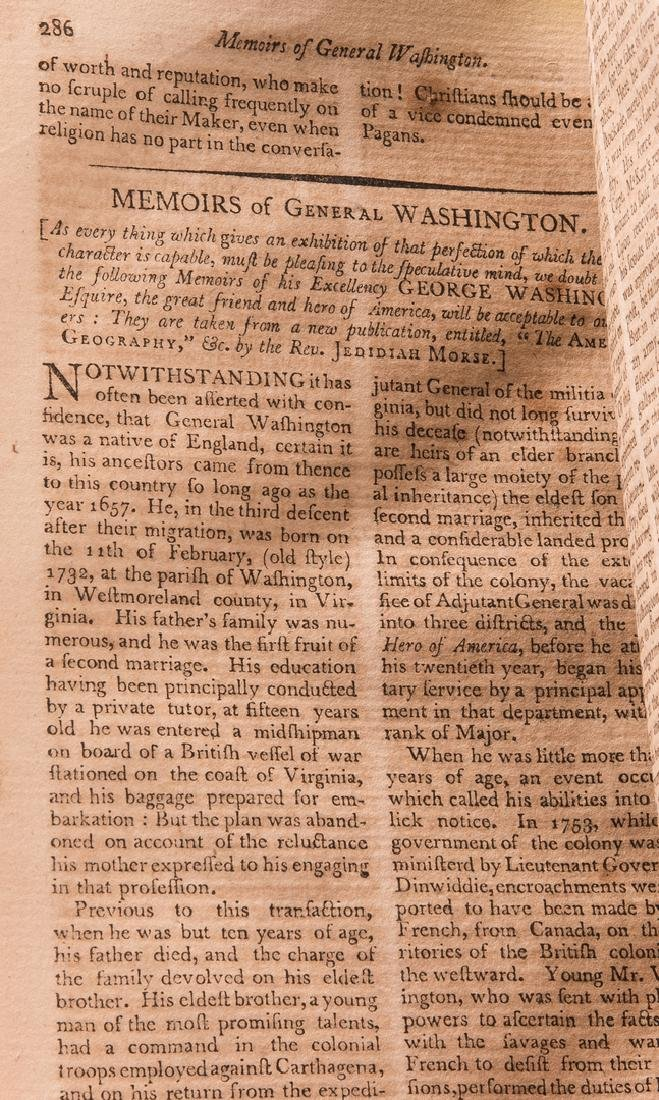 George Washington Signed Book w/ Bookplate - 12