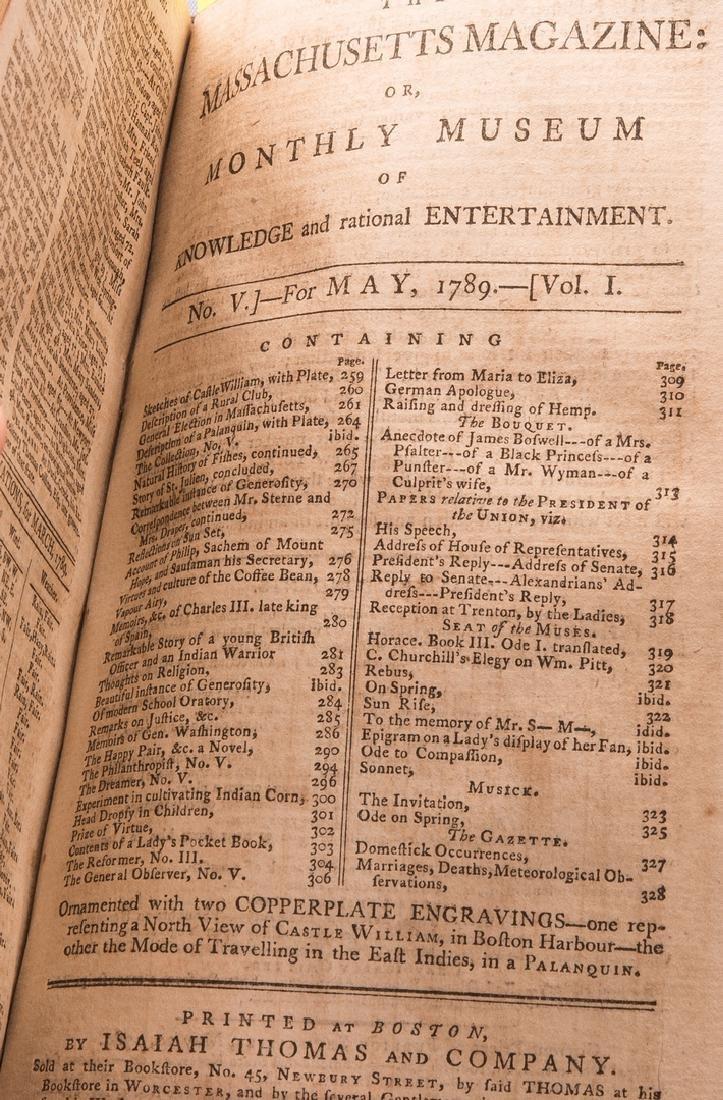 George Washington Signed Book w/ Bookplate - 18