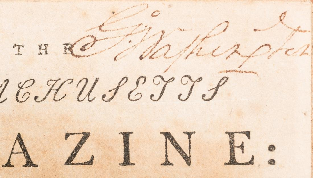 George Washington Signed Book w/ Bookplate - 19