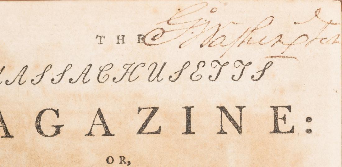 George Washington Signed Book w/ Bookplate - 2