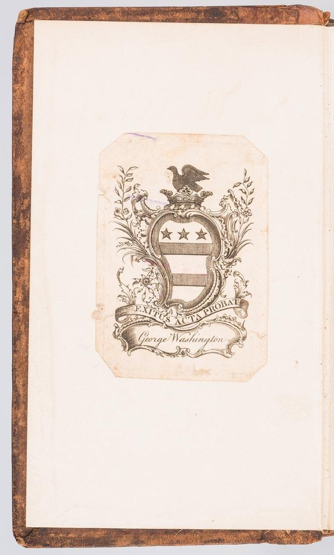 George Washington Signed Book w/ Bookplate - 3