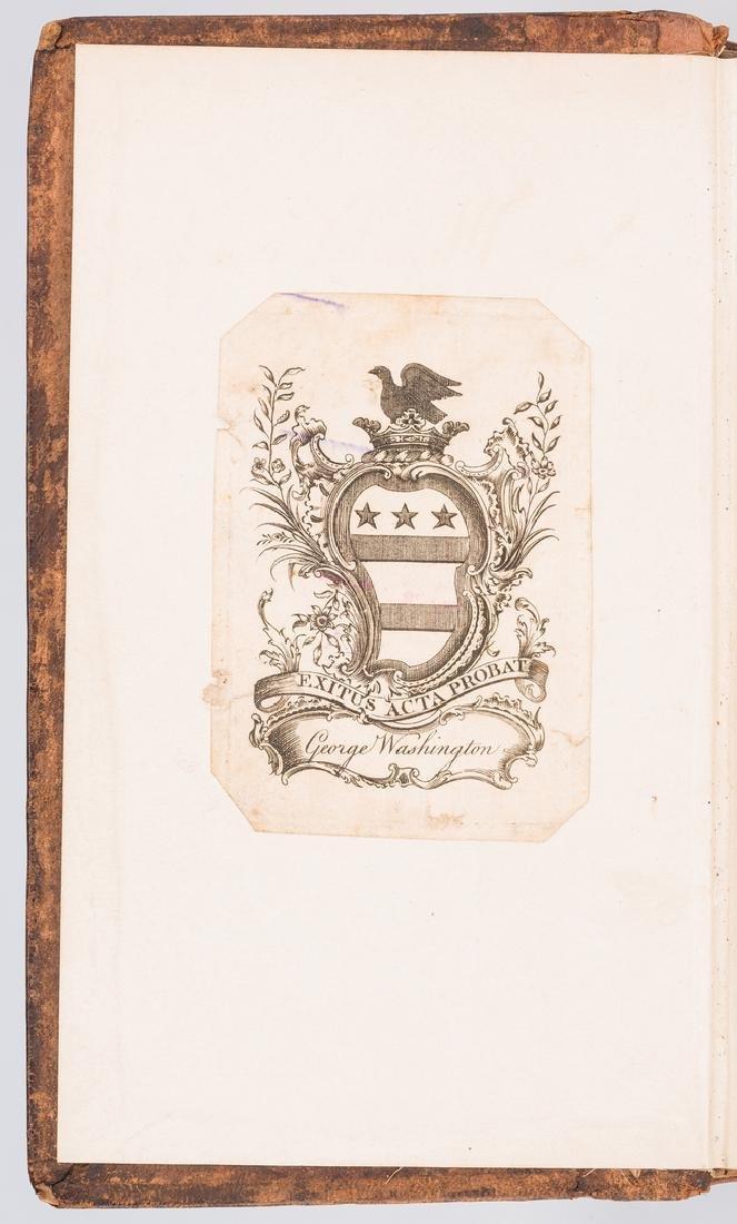 George Washington Signed Book w/ Bookplate - 3