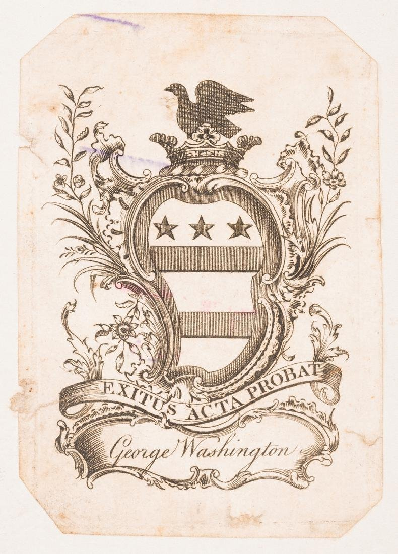 George Washington Signed Book w/ Bookplate - 4