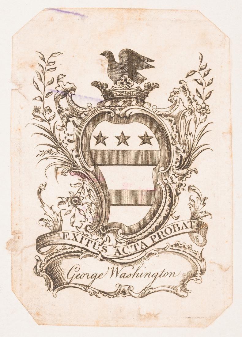 George Washington Signed Book w/ Bookplate - 4