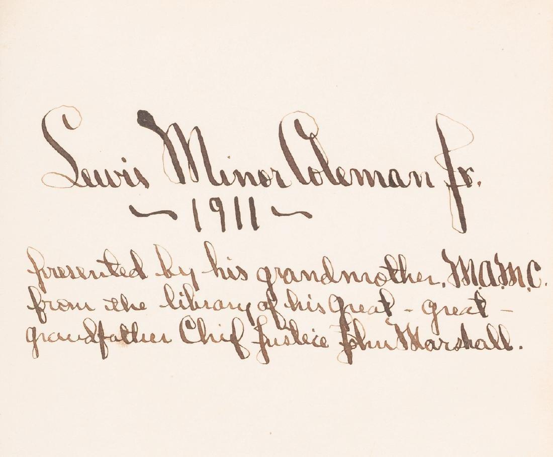 George Washington Signed Book w/ Bookplate - 6