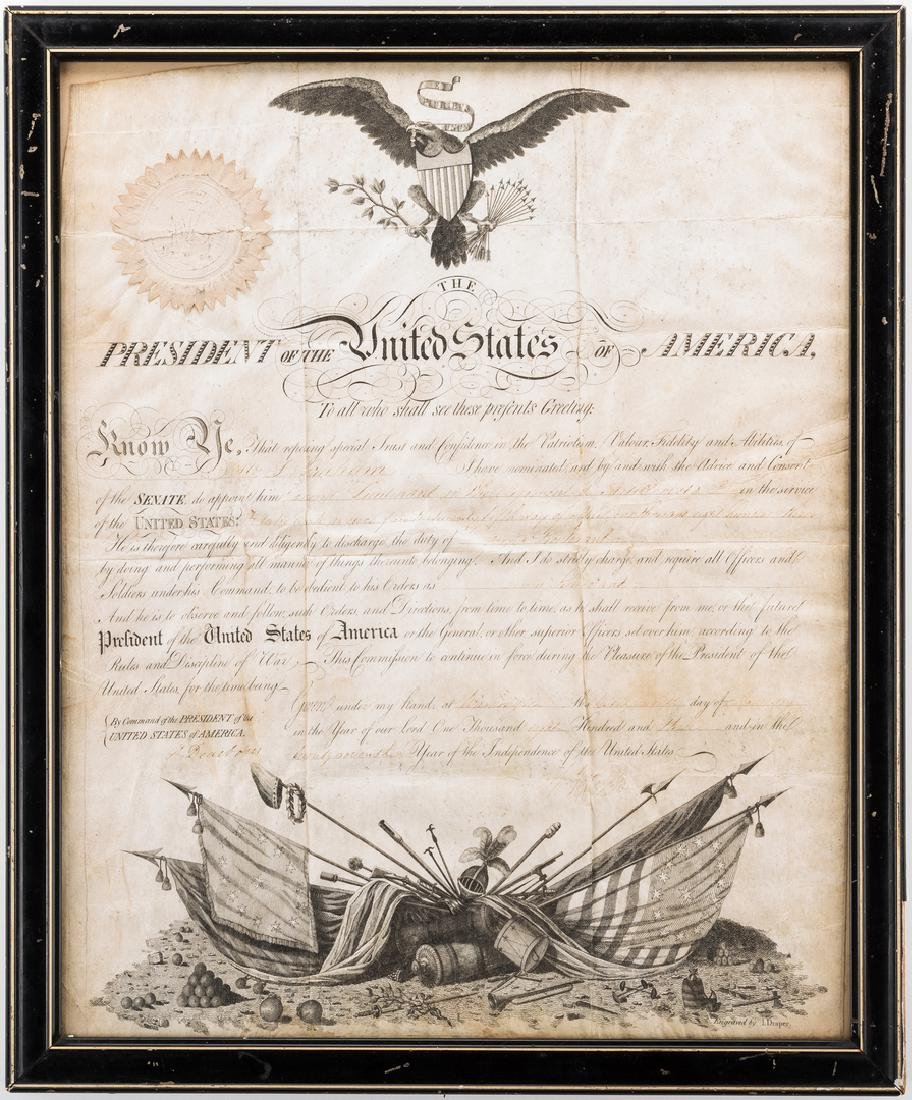 President Jefferson and Gen. Dearborn Signed Military