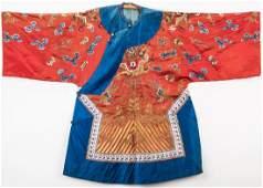 Chinese Silk Court Robe