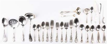 52 pcs sterling flatware inc Tiffany Jensen Gorham