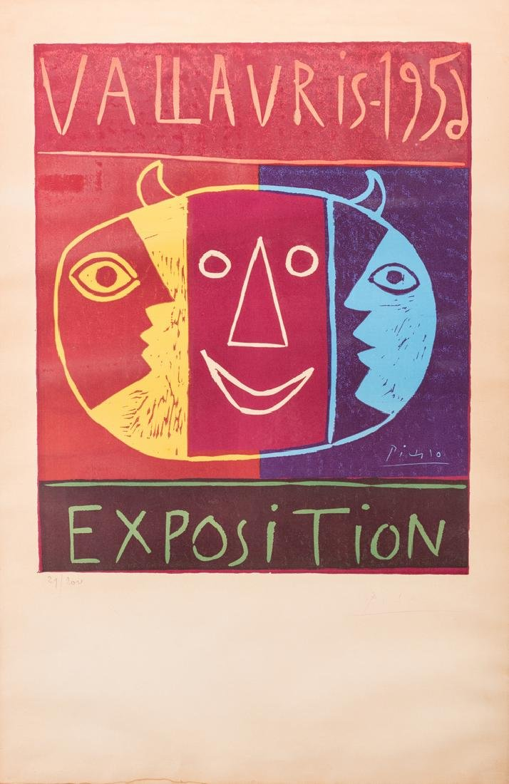 Picasso Signed Exhibition Poster