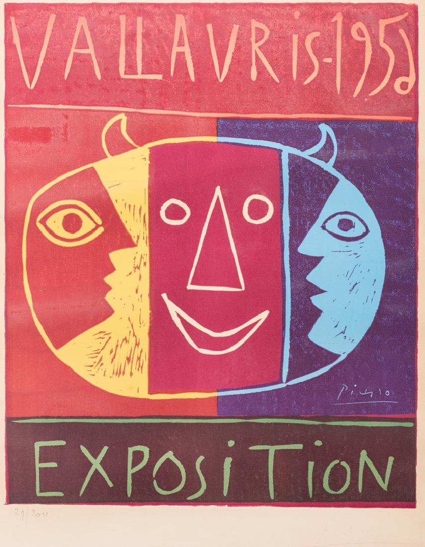 Picasso Signed Exhibition Poster - 2