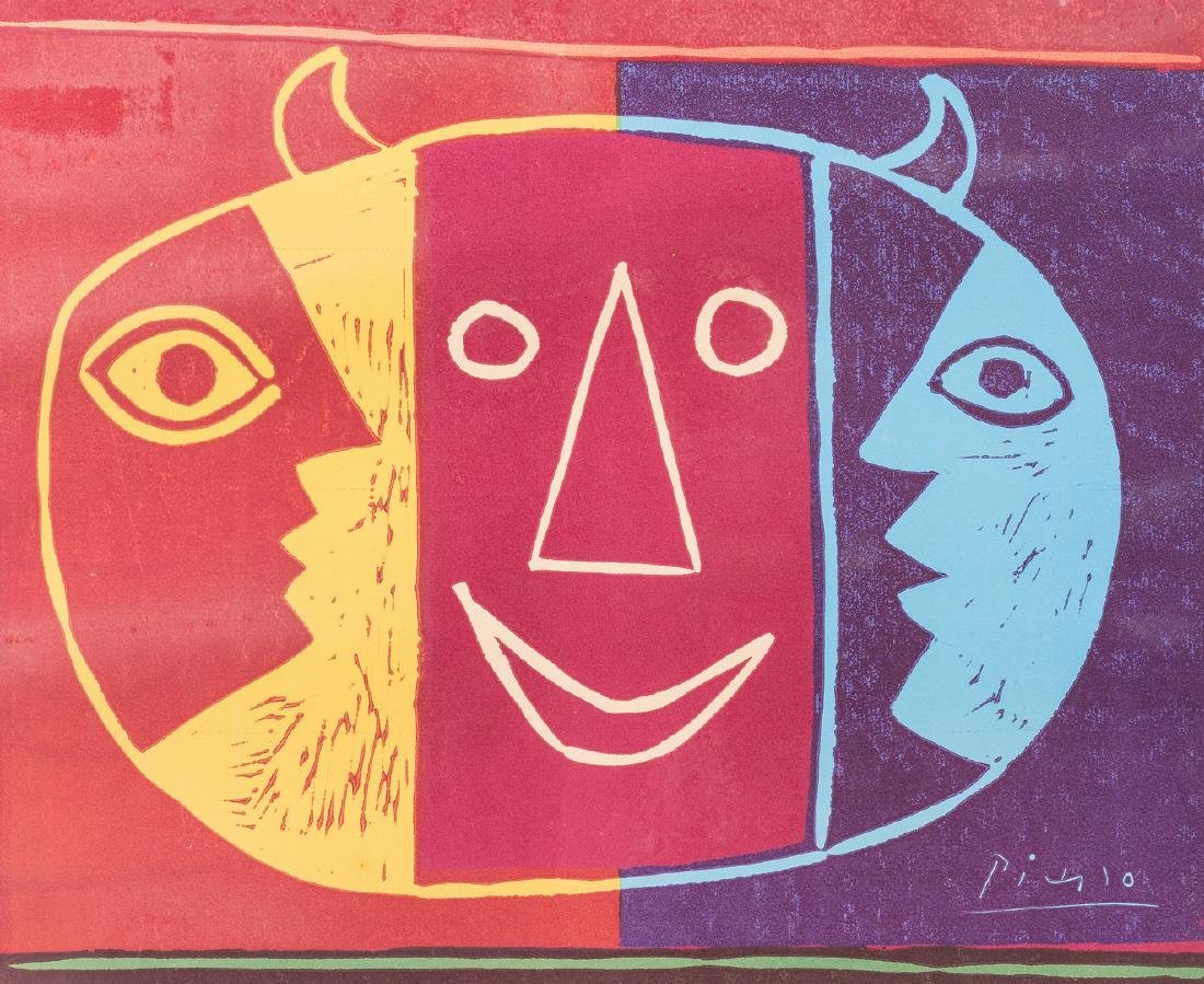 Picasso Signed Exhibition Poster - 3