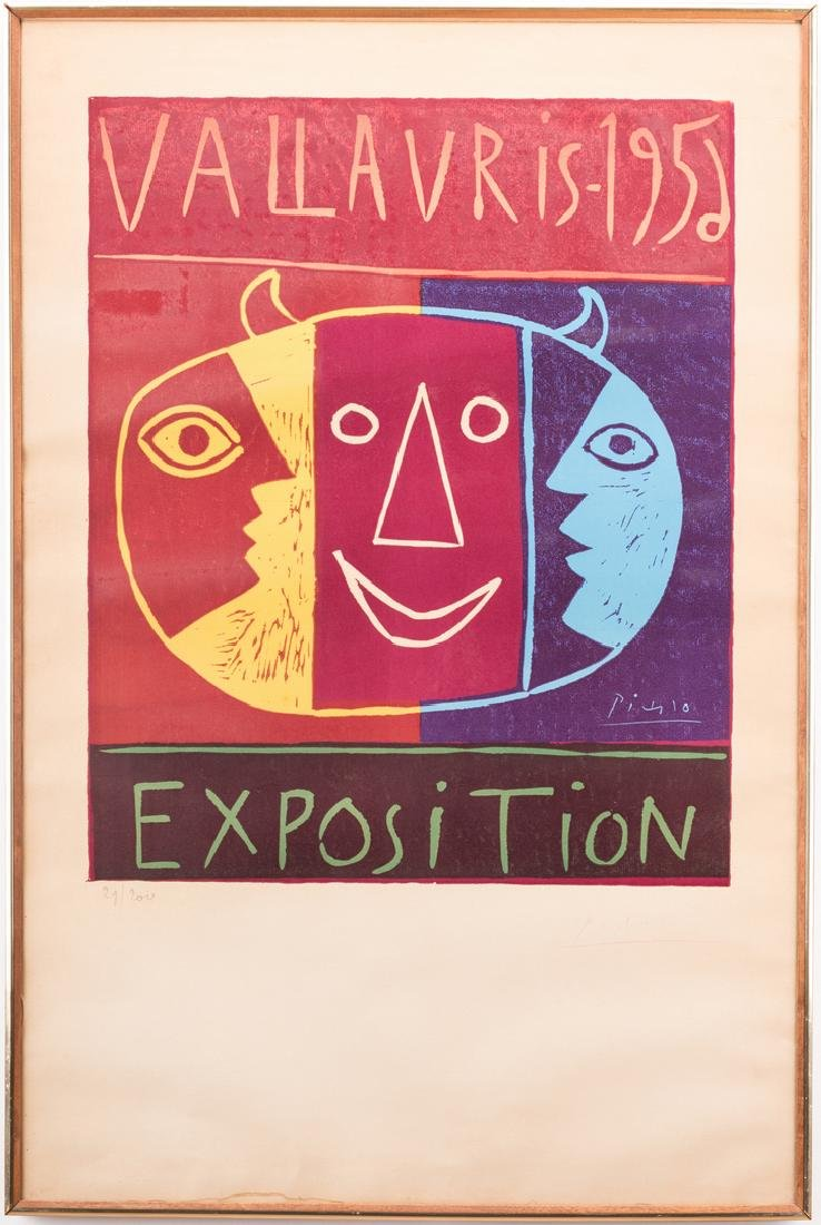 Picasso Signed Exhibition Poster - 7