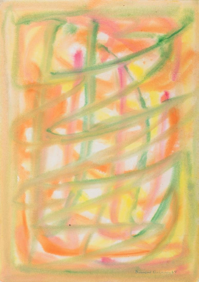 Beauford Delaney Estate, Abstract on Paper No. 351