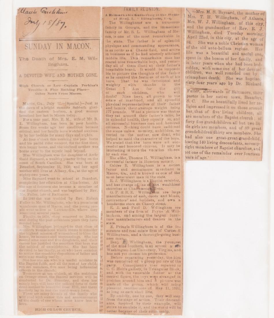 2 Robert E. Lee signed documents as Pres. of Washington - 5