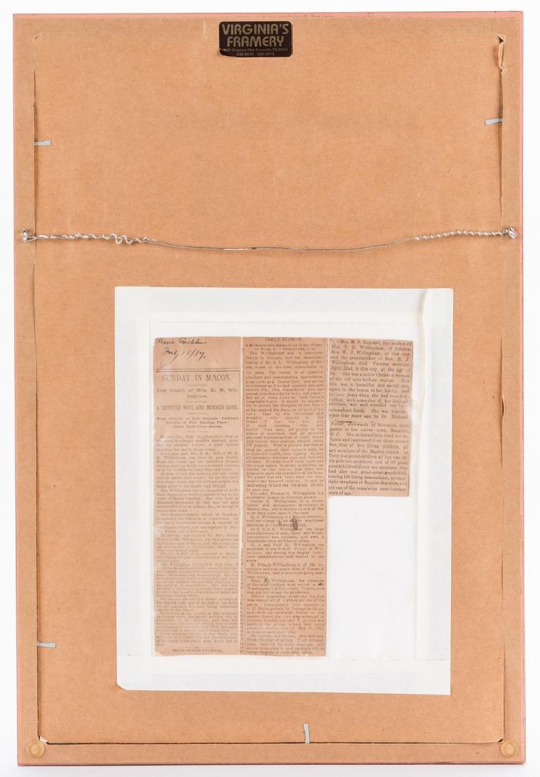 2 Robert E. Lee signed documents as Pres. of Washington - 6