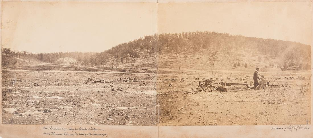 Civil War Photograph - Rossville Gap In Missionary