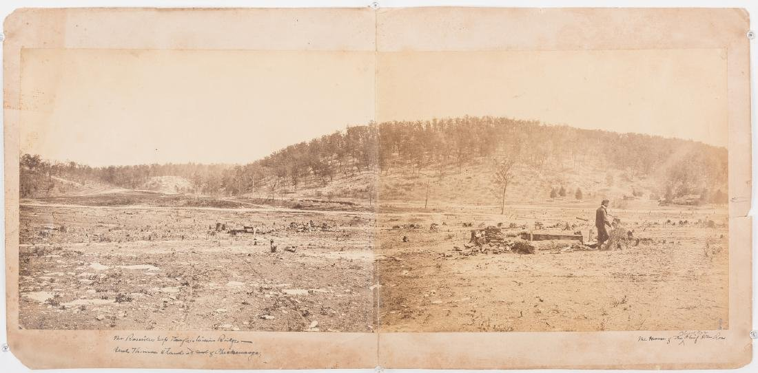 Civil War Photograph - Rossville Gap In Missionary - 2