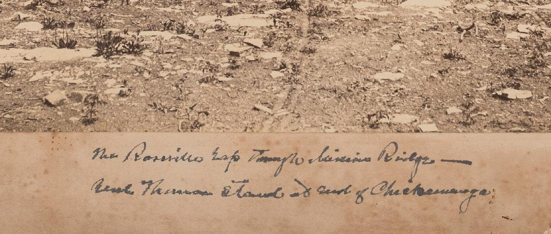 Civil War Photograph - Rossville Gap In Missionary - 6