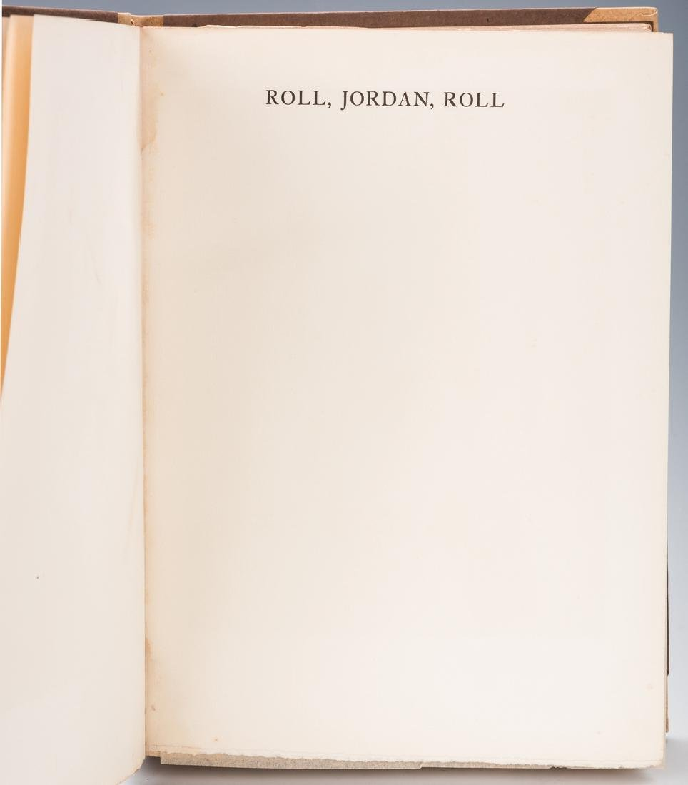 Roll Jordan Roll, Author Signed #74 of 350. - 19