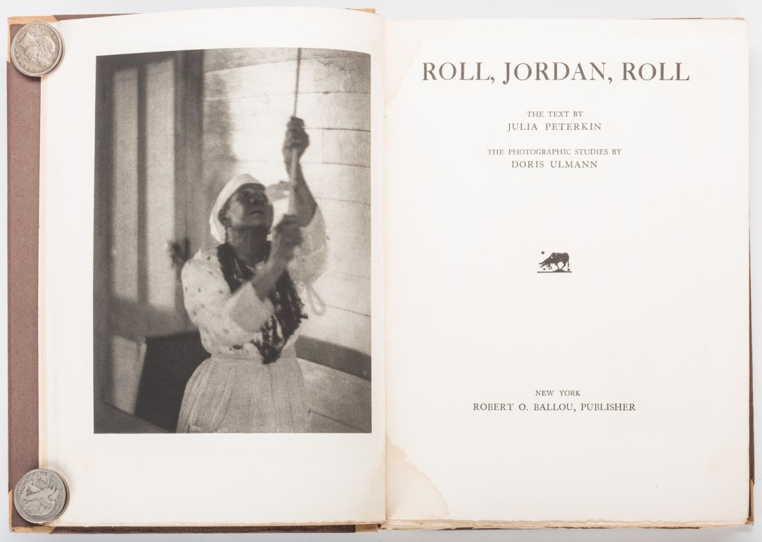 Roll Jordan Roll, Author Signed #74 of 350.