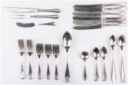Alvin Maryland Sterling Flatware 46 pcs