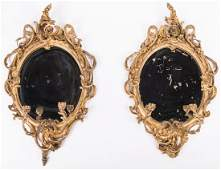 Pr. George III Girandole Mirrors