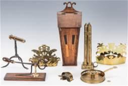 8 English Kitchen  Hearth Items 18th19th Century